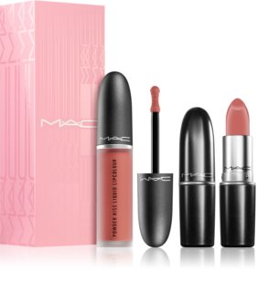 MAC Cosmetics  Powder Kiss Lip Kit: Like a Daughter coffret cosmétique (pour femme)