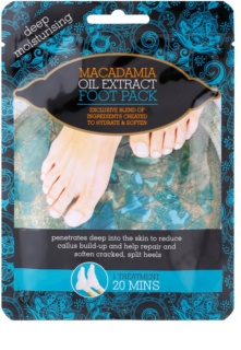 Macadamia Oil Extract Pack Moisturizer-Socks