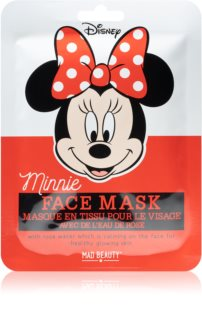 Mad Beauty Minnie Brightening Face Sheet Mask With Extracts Of Wild Roses