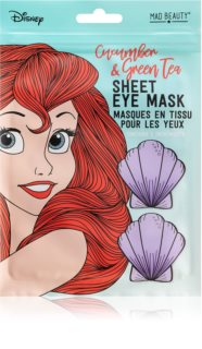 Mad Beauty Disney Princess Ariel masque apaisant yeux