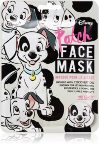 Mad Beauty Animals Patch hydraterende sheet mask met Kokosolie