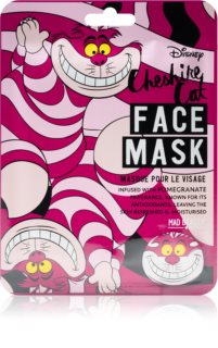 Mad Beauty Animals Cheshire Cat antioxidative Tuchmaske