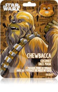 Mad Beauty Star Wars Chewbacca masque hydratant en tissu à l'huile de coco