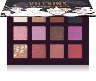 Mad Beauty Disney Villains Palette paletă cu farduri de ochi
