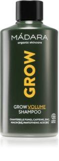 Mádara Grow shampoing pour donner du volume aux cheveux fins