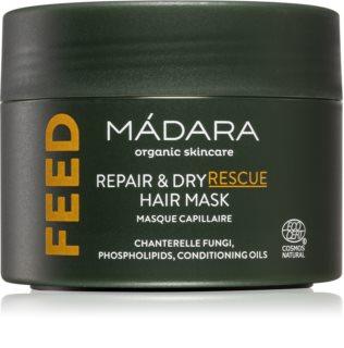 Mádara Feed regenerační a hydratační maska na vlasy