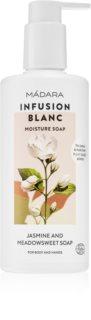Mádara Infusion Blanc овлажняващ душ гел