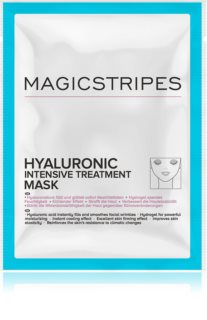 MAGICSTRIPES Hyaluronic Intensive Treatment intensive Hydrogel-Maske mit Hyaluronsäure