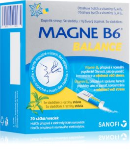 Magne B6 Balance doplněk stravy  s vysokým obsahem hořčíku
