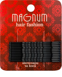 Magnum Hair Fashion lasnice za lase črna