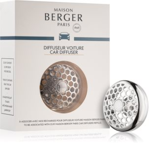 Maison Berger Paris Car Honey Comb illat autóba clip (Chrome)