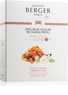 Maison Berger Paris Car Oriental Star parfum pentru masina Refil