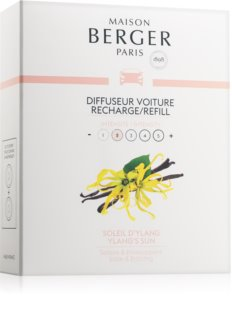 Maison Berger Paris Car Ylang's Sun vôňa do auta náhradná náplň