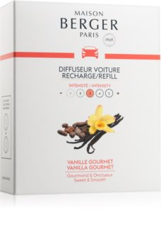 Maison Berger Paris Car Vanilla Gourmet vůně do auta náhradní náplň