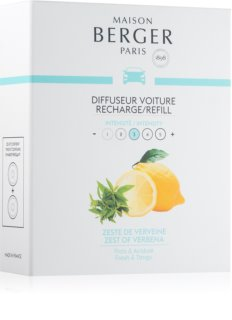 Maison Berger Paris Car Zest Of Verbena parfum pentru masina Refil