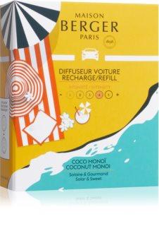 Maison Berger Paris Coco Monoï vůně do auta náhradní náplň