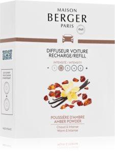 Maison Berger Paris Car Amber Powder vôňa do auta náhradná náplň