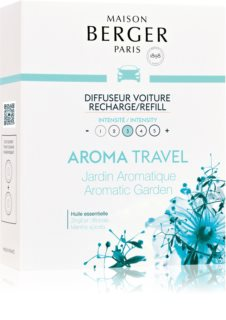 Maison Berger Paris Car Aroma Travel vôňa do auta náhradná náplň (Aromatic Garden)