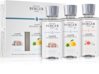 Maison Berger Paris Catalytic Lamp Refill Tripack set cadou V.