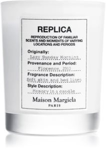 Maison Margiela REPLICA Lazy Sunday Morning vela perfumada