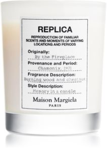 Maison Margiela REPLICA By the Fireplace candela profumata