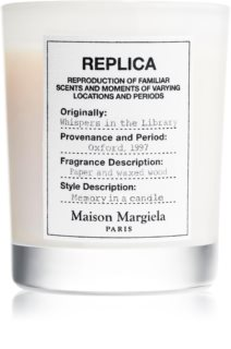 Maison Margiela REPLICA Whispers in the Library αρωματικό κερί