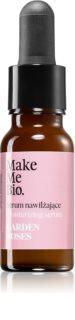 Make Me BIO Face Care Garden Roses Feuchtigkeitsspendendes Serum mit ernährender Wirkung