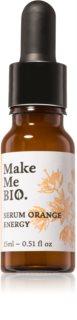 Make Me BIO Orange Energy aufhellendes Gesichtsserum mit feuchtigkeitsspendender Wirkung