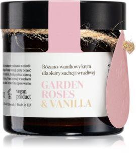 Make Me BIO Garden Roses & Vanilla подхранващ хидратиращ крем за суха към изключително суха чувствителна кожа