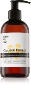 Make Me BIO Orange Energy sapone liquido nutriente con dosatore