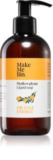 Make Me BIO Orange Energy питательное жидкое мыло с дозатором