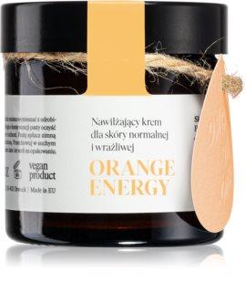 Make Me BIO Orange Energy хидратиращ крем за нормална към чувствителна кожа