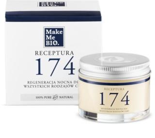 Make Me BIO Receptura 174 Regenerating Night Cream for All Skin Types