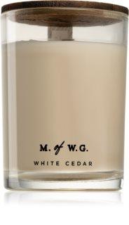 Makers of Wax Goods White Cedar vonná sviečka s dreveným knotom