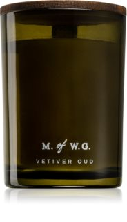 Makers of Wax Goods Vetiver Oud αρωματικό κερί με ξύλινο φιτίλι