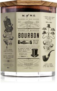 Makers of Wax Goods Bourbon vonná sviečka s dreveným knotom
