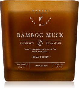 Makers of Wax Goods Bamboo Musk αρωματικό κερί