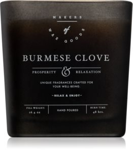 Makers of Wax Goods Burmese Clove scented candle