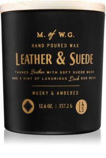 Makers of Wax Goods Leather & Suede scented candle