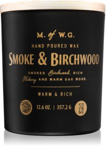 Makers of Wax Goods Smoke & Birchwood Candle