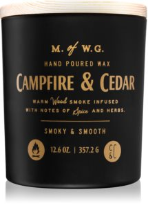 Makers of Wax Goods Campfire & Cedar scented candle