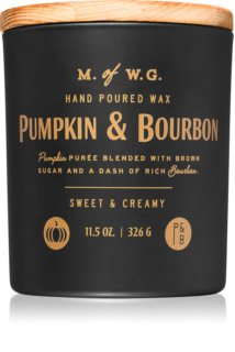 Makers of Wax Goods Pumpkin & Bourbon scented candle
