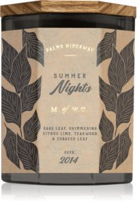 Makers of Wax Goods Palms Hideaway Summer Nights lumânare parfumată
