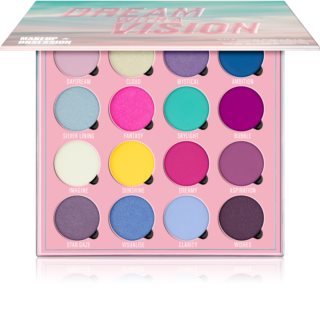 Makeup Obsession Dream With A Vision paleta sjenila za oči