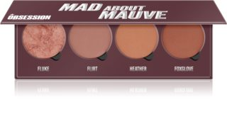 Makeup Obsession Mad About Mauve палитра с ружове