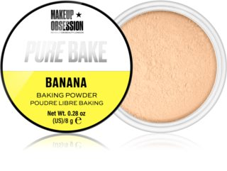 Makeup Obsession Pure Bake polvos sueltos matificantes