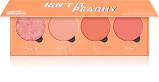 Makeup Obsession Isn't It Peachy палитра с ружове