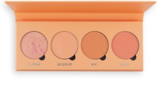 Makeup Obsession Isn't It Peachy palette di blush