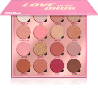 Makeup Obsession Love Is My Drug paleta de sombra para os olhos