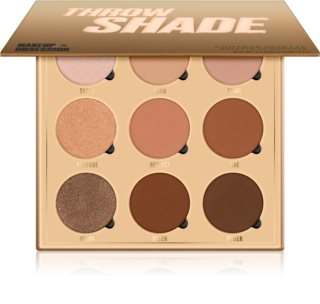 Makeup Obsession Throw Shade palette contouring